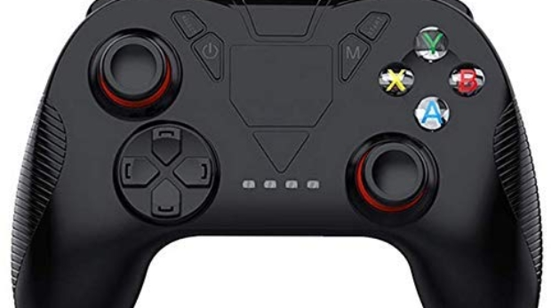 L&WB Bluetooth Gamepad Controller 3D VR Remote Android iPhone Pc Game Stand Smart Phone Joystick di Gioco Wireless