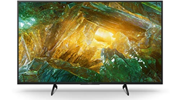 """Sony KD-43XH8096 - Televisore 43"""" 4K Ultra HD HDR LED con Android TV (Motionflow XR 400 Hz, 4K X-Reality PRO, schermo TRILUMINOS, Wi-Fi), nero"""